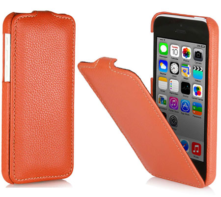 iPhone 5c Hülle von StilGut - Typ UltraSlim Case