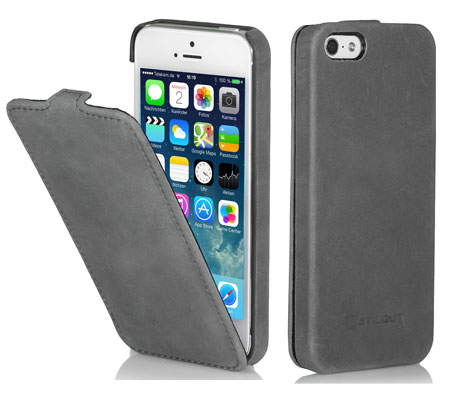 iPhone 5s Hülle von StilGut - Typ UltraSlim Case