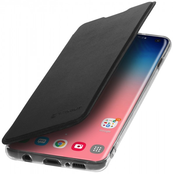 StilGut - Samsung Galaxy S10 Book Type NFC/RFID Blocking Hülle