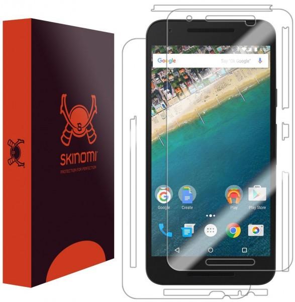 Skinomi – Displayschutzfolie Nexus 5X TechSkin Vorder- und Rückseite