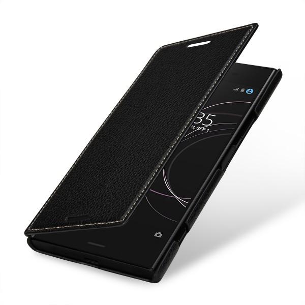 StilGut - Sony Xperia XZ1 Case Book Type ohne Clip