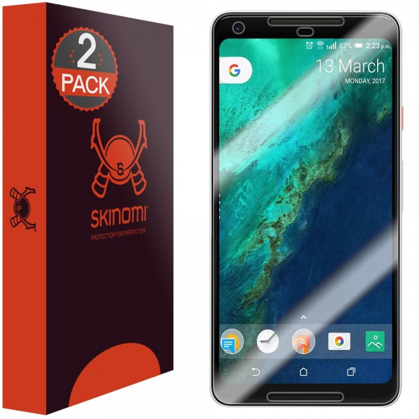 Skinomi - Displayschutzfolie Google Pixel 2 XL Maximum Coverage (2er Pack)