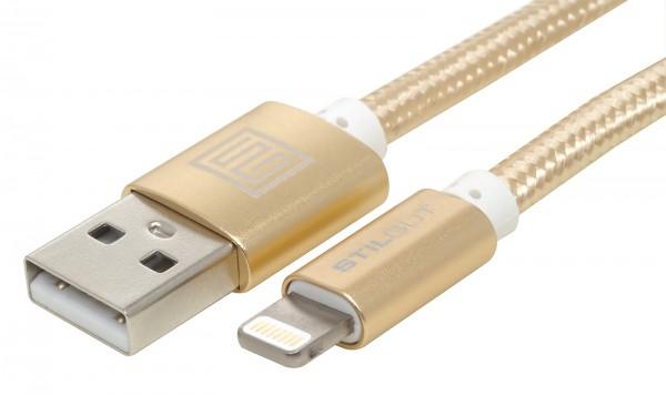 StilGut - Lightning Kabel Premium (Apple MFi zertifiziert) 1m