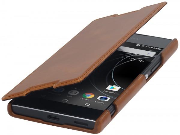 StilGut - Sony Xperia XA1 Case Book Type ohne Clip