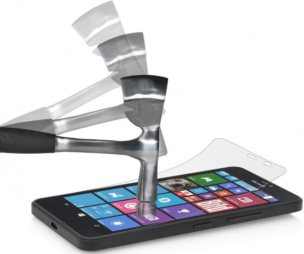 StilGut - Panzerglasfolie für Lumia 640 XL (2er-Pack)