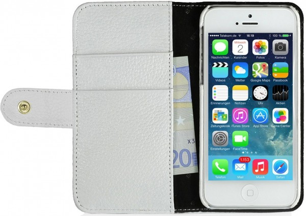 "StilGut - Ledertasche ""Talis"" für iPhone 5 & iPhone 5s"