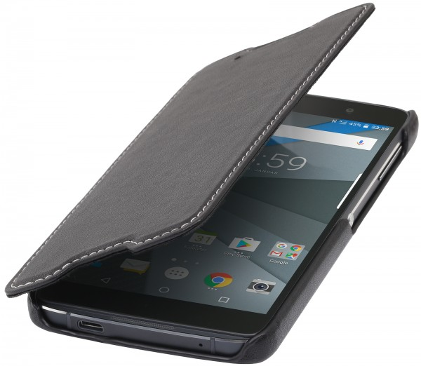 StilGut - BlackBerry DTEK50 Case Book Type ohne Clip
