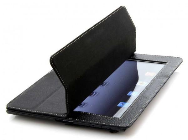 StilGut - Couverture Case V2 aus Leder für iPad 3 & iPad 4