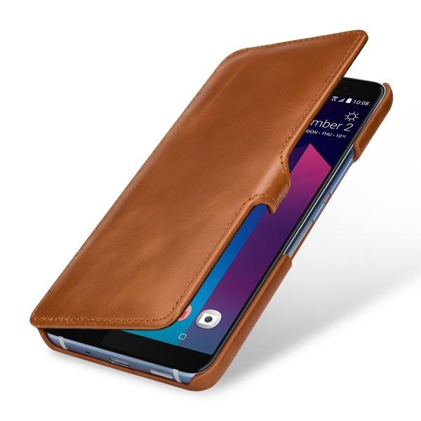 StilGut - HTC U11+ Tasche Book Type mit Clip