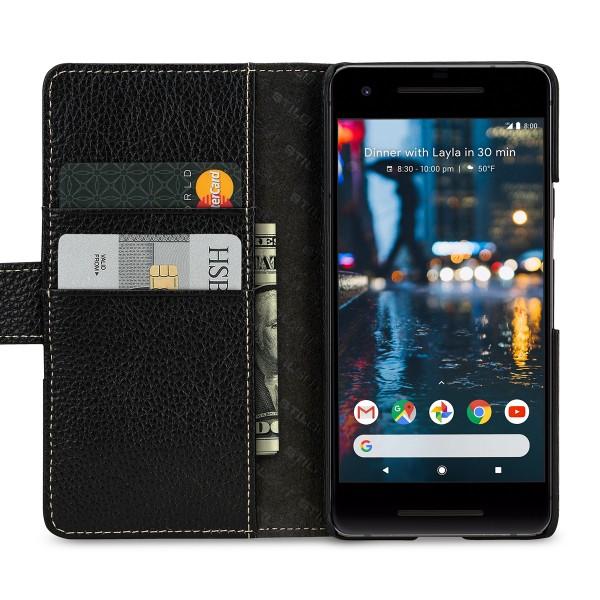 StilGut - Google Pixel 2 Hülle Talis mit Kreditkartenfach