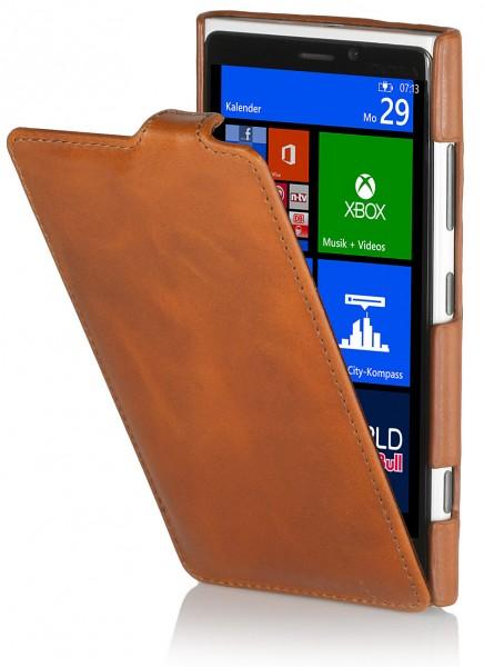 StilGut - UltraSlim Case für Nokia Lumia 920 aus Leder