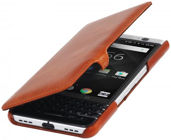 StilGut - BlackBerry KEYone Tasche Book Type mit Clip
