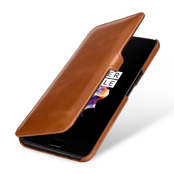 StilGut - OnePlus 5 Tasche Book Type mit Clip