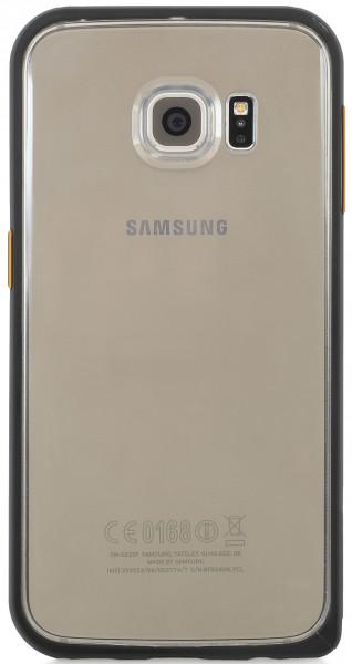 StilGut - Schutzhülle aus Aluminium und Silikon für Galaxy S6 Edge