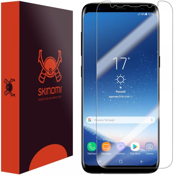 Skinomi - Displayschutzfolie Samsung Galaxy S8+