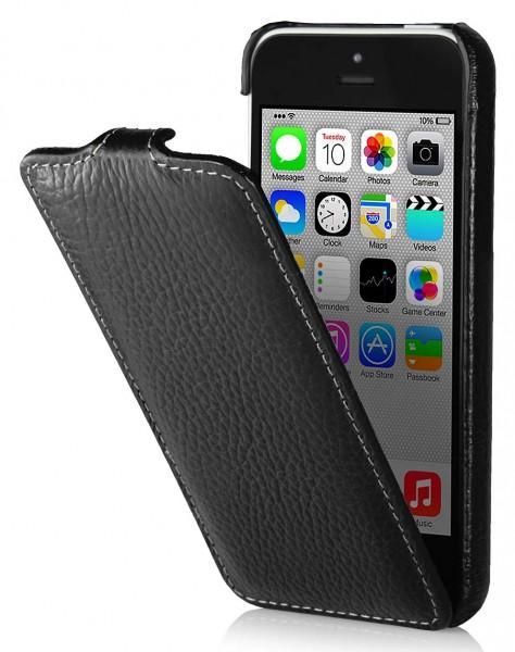 StilGut - UltraSlim Case für iPhone 5c aus Leder