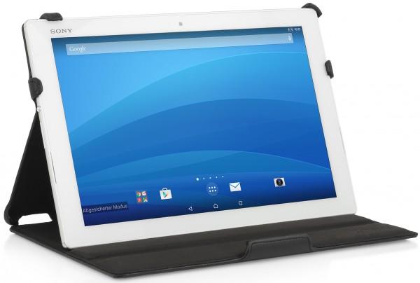 StilGut - Hülle für Xperia Z4 Tablet mit Standfunktion
