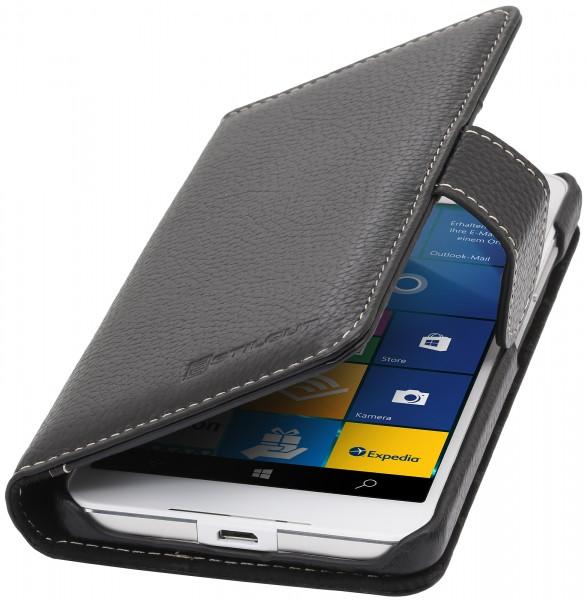 StilGut - Lumia 650 Hülle Talis mit Kreditkartenfach aus Leder