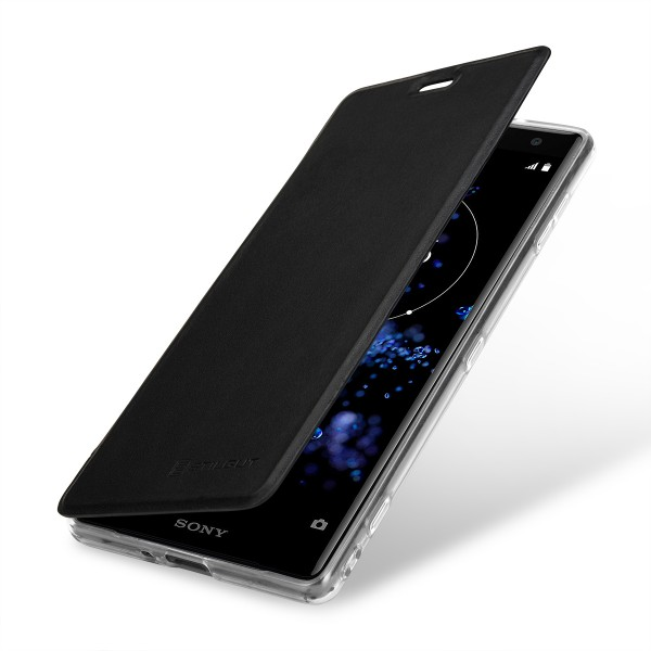 StilGut - Sony Xperia XZ2 Book Type NFC/RFID Blocking Hülle