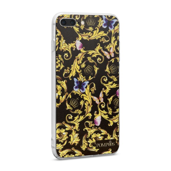 POMPÖÖS by StilGut - iPhone 7 Plus Cover Royal - Design by HARALD GLÖÖCKLER