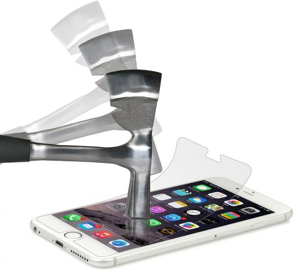 """StilGut - Displayschutzfolie """"Panzerglas"""" für iPhone 6 Plus & 6s Plus (2er-Pack)"""