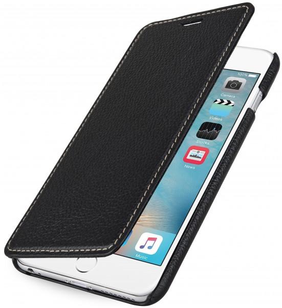 """StilGut - Handyhülle für iPhone 6s Plus """"Book Type"""" aus Leder ohne Clip"""