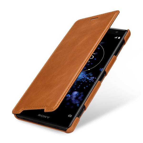 StilGut - Sony Xperia XZ2 Case Book Type ohne Clip