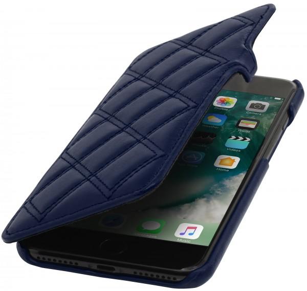 StilGut - iPhone SE Tasche Book Type mit Clip Karat