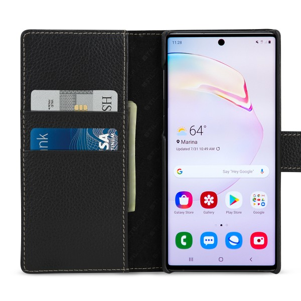 StilGut - Samsung Galaxy Note 10 Hülle Talis mit Kartenfach