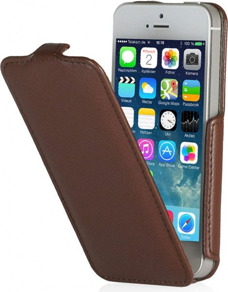 StilGut - Slim Case (Stil B) Tasche für iPhone 5 & iPhone 5s