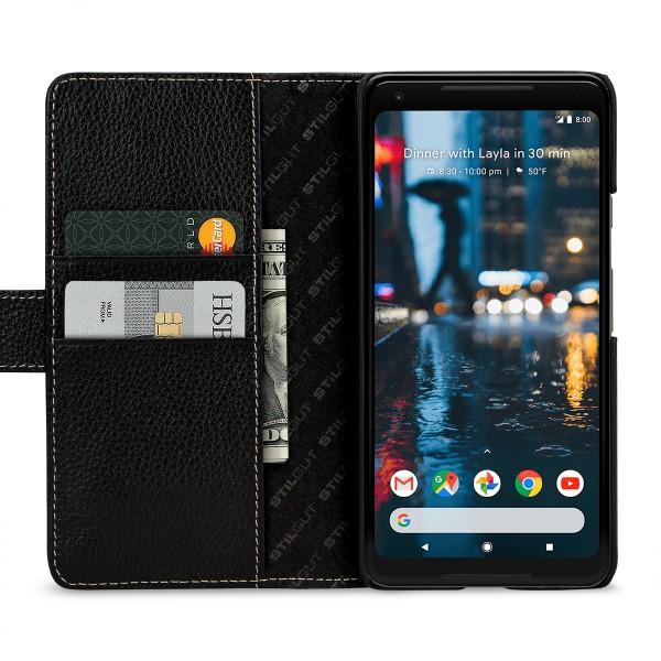 StilGut - Google Pixel 2 XL Hülle Talis mit Kreditkartenfach