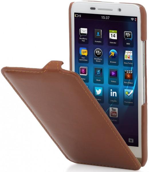 "StilGut - Handyhülle für BlackBerry Z30 ""UltraSlim"" aus Leder"