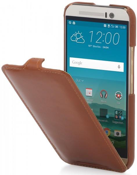 """StilGut - Handyhülle für HTC One M9 """"UltraSlim"""" aus Leder"""
