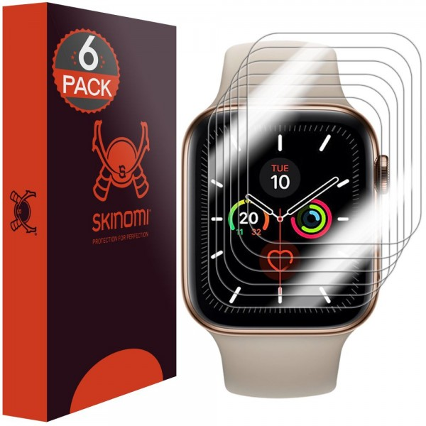 Skinomi - Apple Watch SE (40 mm) Displayschutzfolie