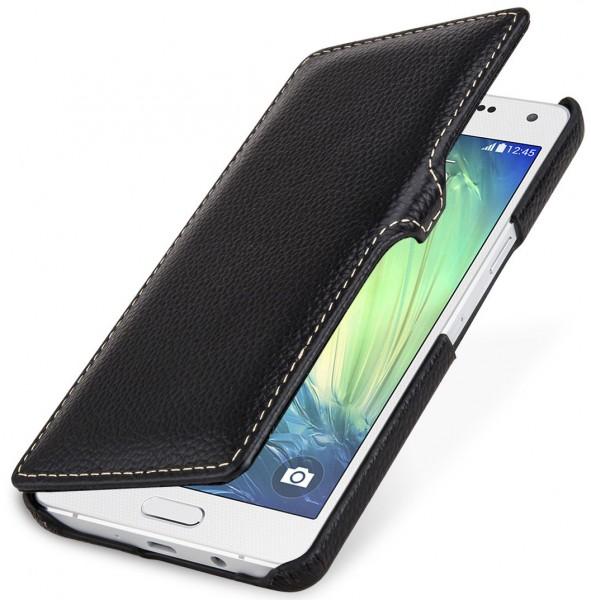 """StilGut - Handyhülle für Samsung Galaxy A5 """"Book Type"""" mit Clip"""