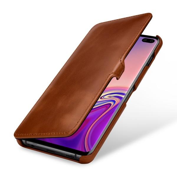 StilGut - Samsung Galaxy S10 Plus Tasche Book Type mit Clip