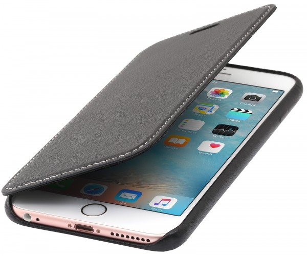 StilGut - iPhone 6 Plus Hülle Premium Book Type aus Leder