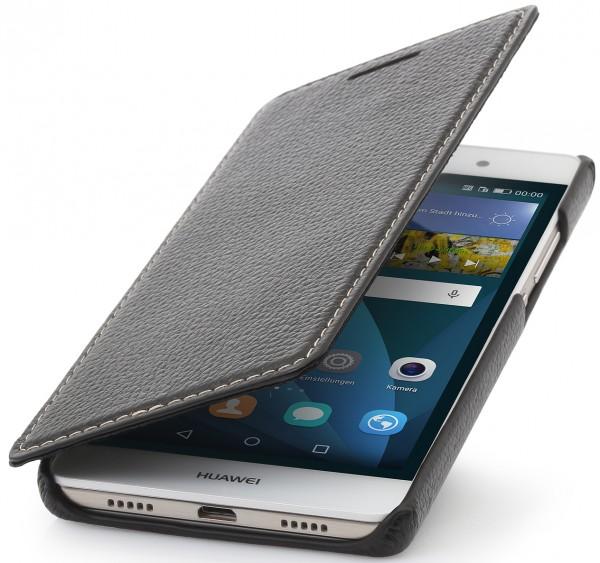 """StilGut - Handyhülle für Huawei P8 Lite """"Book Type"""" ohne Clip"""