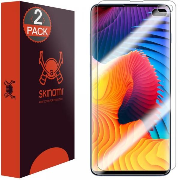 Skinomi - Samsung Galaxy S10 Plus Displayschutzfolie Edge to Edge (2er Pack)