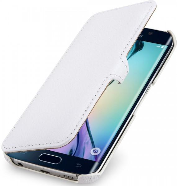 """StilGut - Handyhülle für Samsung Galaxy S6 edge """"Book Type"""" mit Clip"""
