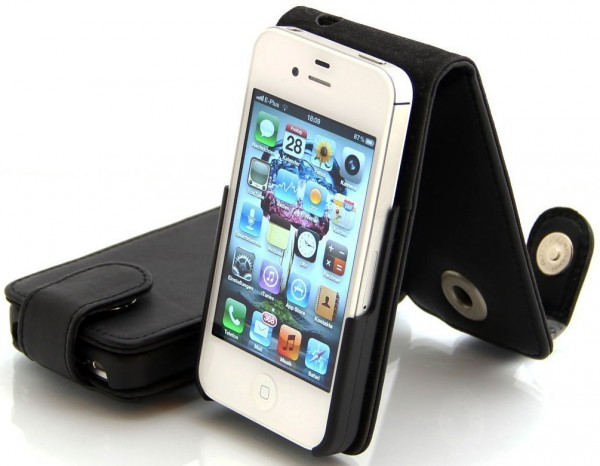 StilGut - Exkl. Ledertasche für iPhone 4 & iPhone 4s
