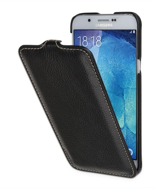 "StilGut - Handyhülle für Galaxy A8 (2015) ""UltraSlim"" aus Leder"