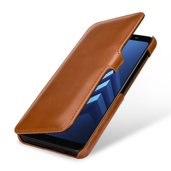 StilGut - Samsung Galaxy A8 (2018) Tasche Book Type mit Clip