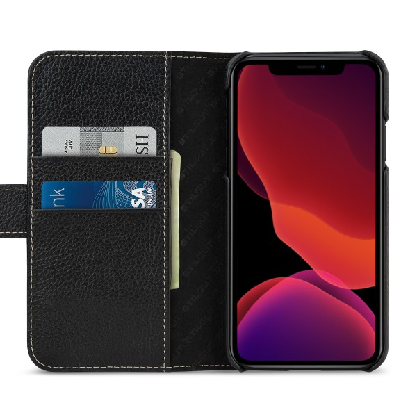 StilGut - iPhone 11 Flip Cover Talis mit Kartenfach