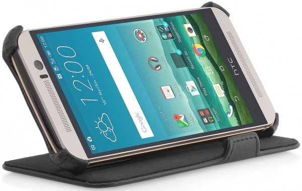 """StilGut - Handyhülle für HTC One M9 """"UltraSlim"""" mit Standfunktion"""