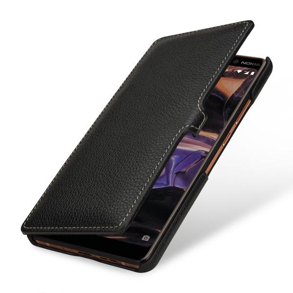 StilGut - Nokia 7 Plus Tasche Book Type mit Clip