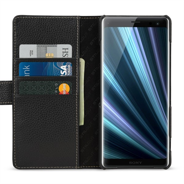 StilGut - Sony Xperia XZ3 Hülle Talis mit Kartenfach