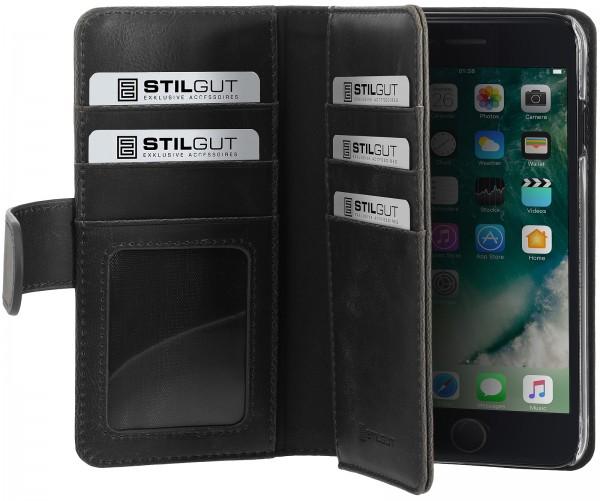StilGut - iPhone 7 Hülle Talis XL mit Kreditkartenfach