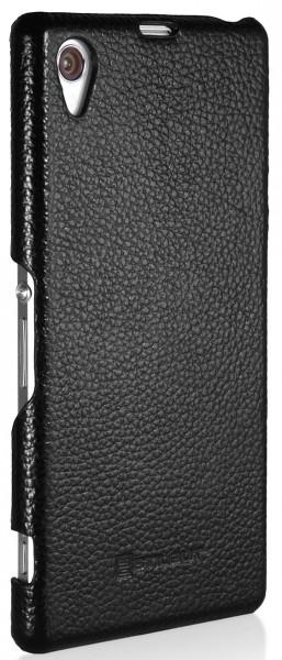 StilGut - Cover aus Leder für Sony Xperia Z1