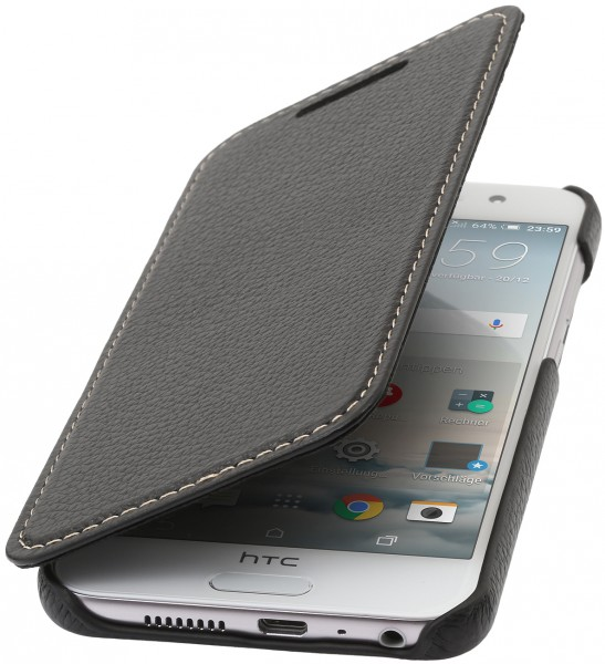 StilGut - HTC One A9 Case Book Type aus Leder ohne Clip